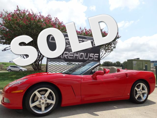 2005 Chevrolet Corvette Convertible 3LT, F55, NAV, Pwr Top, Polished, 22k!   Dallas, Texas   Corvette Warehouse
