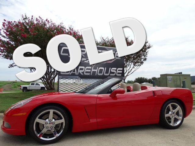 2005 Chevrolet Corvette Convertible 3LT, Z51, NAV, Pwr Top, Auto, 71k | Dallas, Texas | Corvette Warehouse