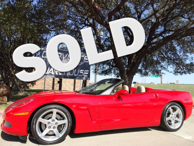 2005 Chevrolet Corvette Convertible 3LT, Z51, Pwr Top, Polished Wheels! | Dallas, Texas | Corvette Warehouse