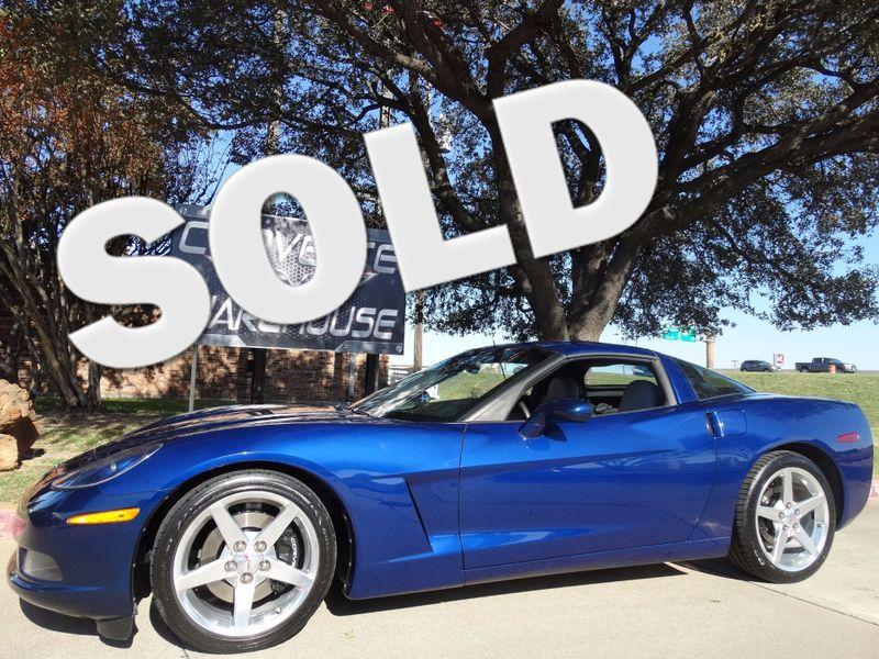 2005 Chevrolet Corvette Coupe 1SB Pkg, HUD, Auto, Polished Wheels 33k!   Dallas, Texas   Corvette Warehouse