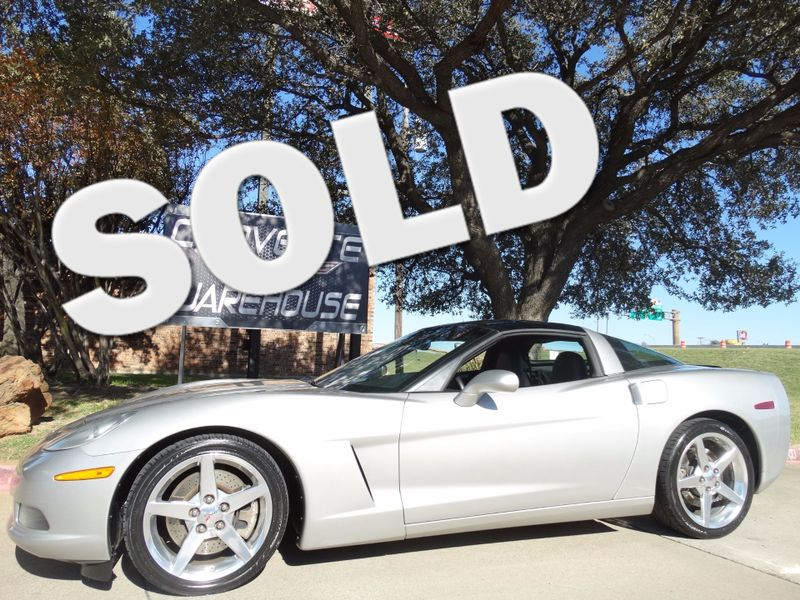2005 Chevrolet Corvette Coupe 3LT, Z51, 6 Spd, NAV, Polished Wheels 91k! | Dallas, Texas | Corvette Warehouse