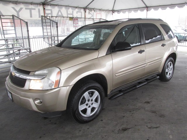 2005 Chevrolet Equinox LS This particular Vehicles true mileage is unknown TMU Please call or