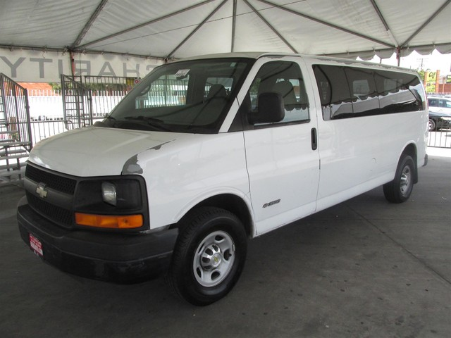 2005 Chevrolet Express Passenger This particular Vehicle comes with 4th Row Seat Please call or e