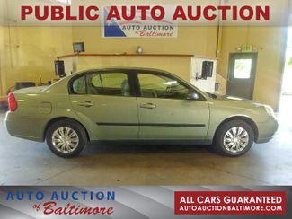 2005 Chevrolet Malibu Base   JOPPA, MD   Auto Auction of Baltimore  in Joppa MD