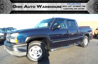 2005 Chevrolet Silverado 1500 Z71 4x4 Crew 87K LOW MILES We Finance | Canton, Ohio | Ohio Auto Warehouse LLC in  Ohio