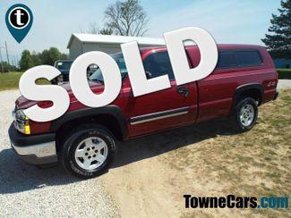 2005 Chevrolet Silverado 1500 LS   Medina, OH   Towne Auto Sales in ohio OH
