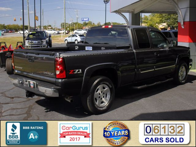 2005 Chevrolet Silverado 1500 Z71 EXT CAB 4X4 - LEATHER BUCKETS - MICHELINS! Mooresville , NC 2