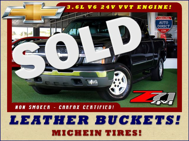 2005 Chevrolet Silverado 1500 Z71 EXT CAB 4X4 - LEATHER BUCKETS - MICHELINS! Mooresville , NC 0