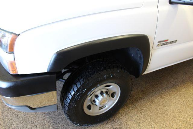 2005 Chevrolet Silverado 2500HD Work Truck Roscoe, Illinois 16