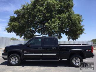 2005 Chevrolet Silverado 2500HD Crew Cab LT 6.6L Duramax Diesel 4X4   American Auto Brokers San Antonio, TX in San Antonio Texas