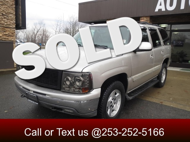 2005 Chevrolet Tahoe LT 4WD Our 2005 Chevrolet Tahoe LT is perfect for drivers who want a full-size