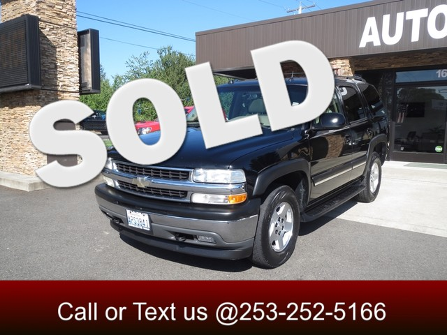 2005 Chevrolet Tahoe LT 4WD The CARFAX Buy Back Guarantee that comes with this vehicle means that