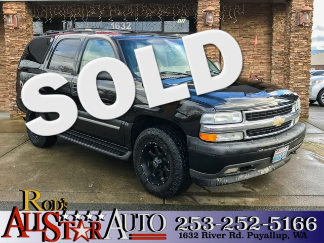 2005 Chevrolet Tahoe LS 4WD The CARFAX Buy Back Guarantee that comes with this vehicle means that