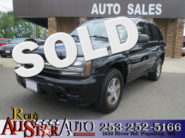 2005 Chevrolet TrailBlazer LS 4WD The CARFAX Buy Back Guarantee that comes with this vehicle means