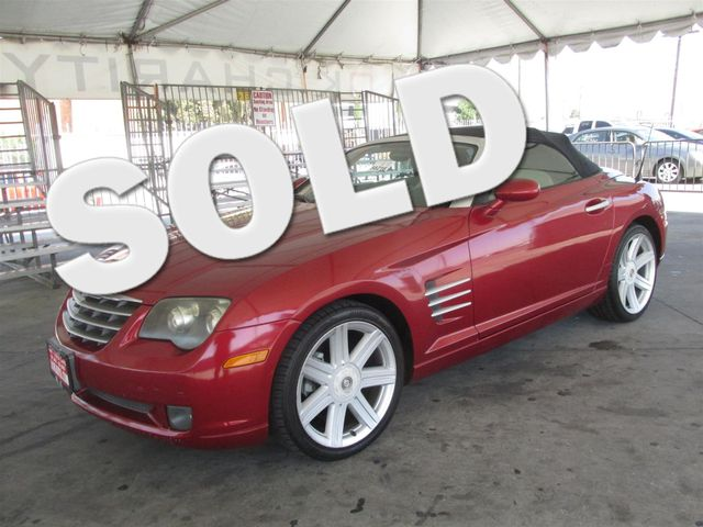2005 Chrysler Crossfire Limited Please call or e-mail to check availability All of our vehicles
