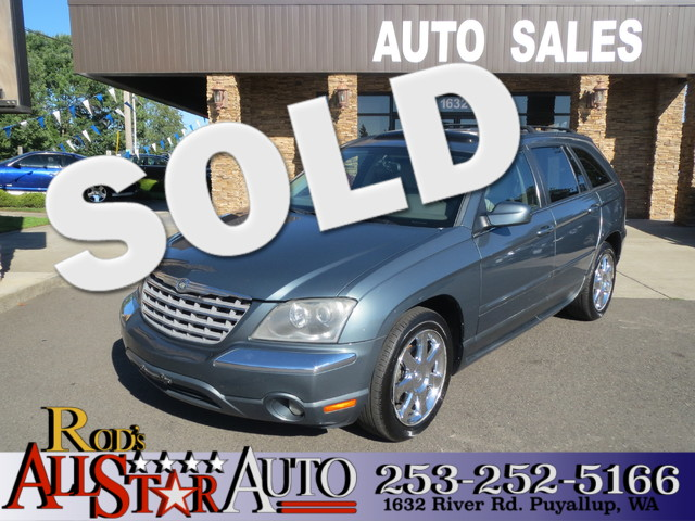 2005 Chrysler Pacifica Limited AWD The CARFAX Buy Back Guarantee that comes with this vehicle mean