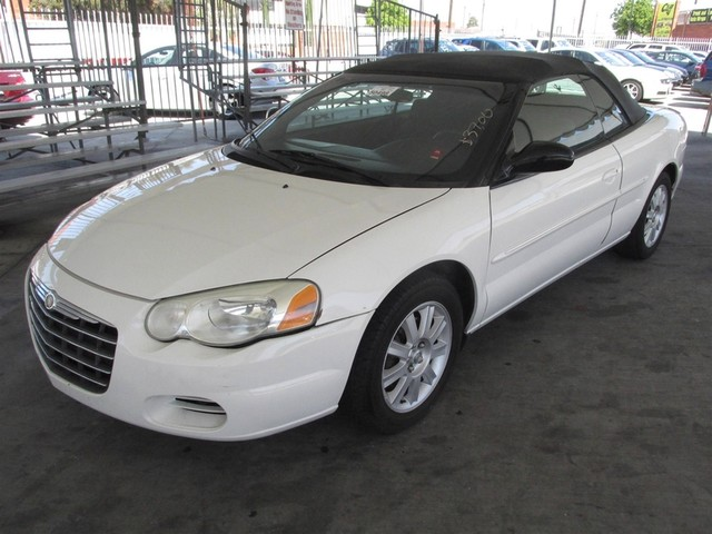 2005 Chrysler Sebring GTC Please call or e-mail to check availability All of our vehicles are a