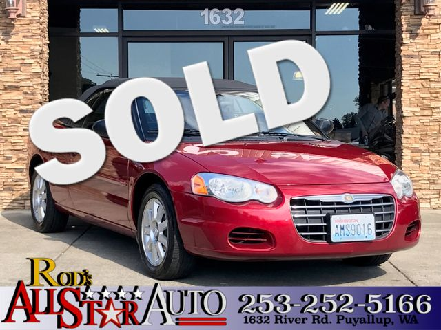 2005 Chrysler Sebring GTC The CARFAX Buy Back Guarantee that comes with this vehicle means that yo