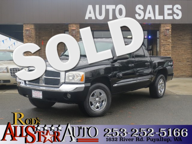 2005 Dodge Dakota Laramie 4WD The CARFAX Buy Back Guarantee that comes with this vehicle means tha