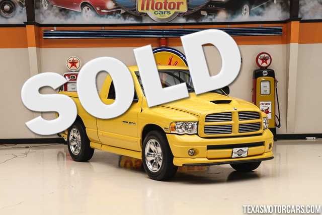 2005 Dodge Ram 1500 Rumble Bee This Carfax 1-Owner accident free 2005 Dodge Ram 1500 Rumble Bee i