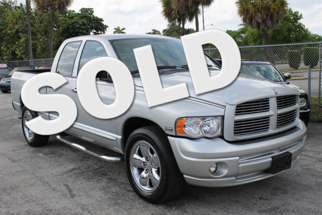 2005 Dodge Ram 1500 SLT  WARRANTY 2 OWNERS 10 SERVICE RECORDS FLORIDA VEHICLE  This Dodg