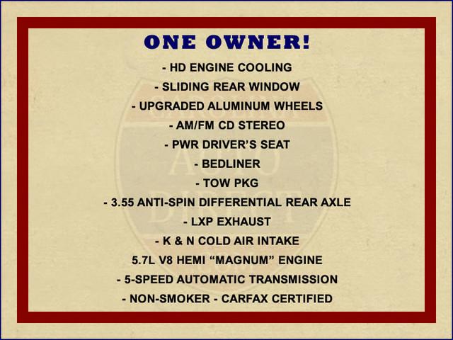 2005 Dodge Ram 1500 SLT Reg Cab RWD - ONE OWNER! Mooresville , NC 1