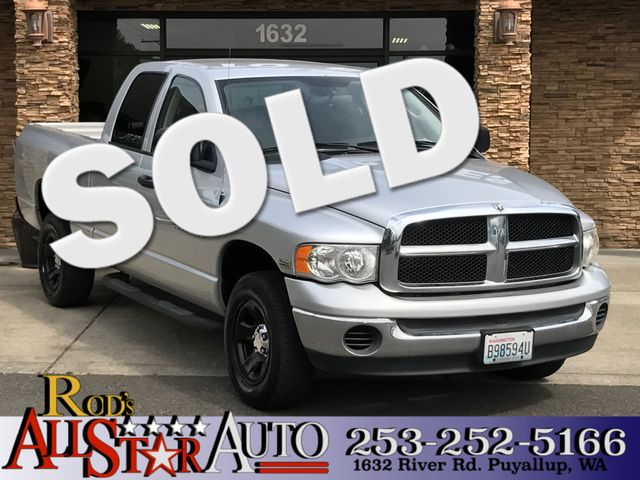 2005 Dodge Ram 1500 SLT 4WD The CARFAX Buy Back Guarantee that comes with this vehicle means that