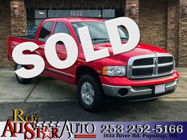 2005 Dodge Ram 1500 SLT This vehicle is a CarFax certified one-owner used car Pre-owned vehicles