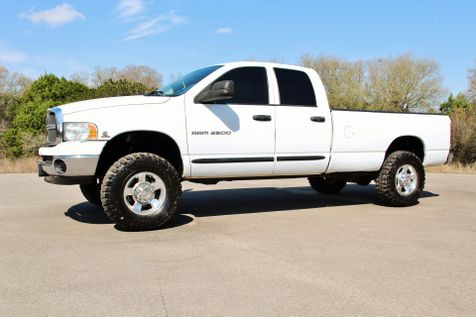 2005 Dodge Ram 2500 SLT - 6 SPEED - 4X4 in Liberty Hill , TX