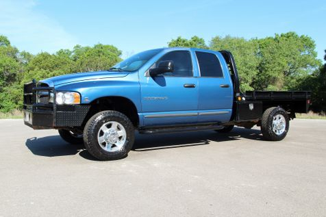 2005 Dodge Ram 2500 SLT - 4X4 - 6 SPEED - FLATBED in Liberty Hill , TX