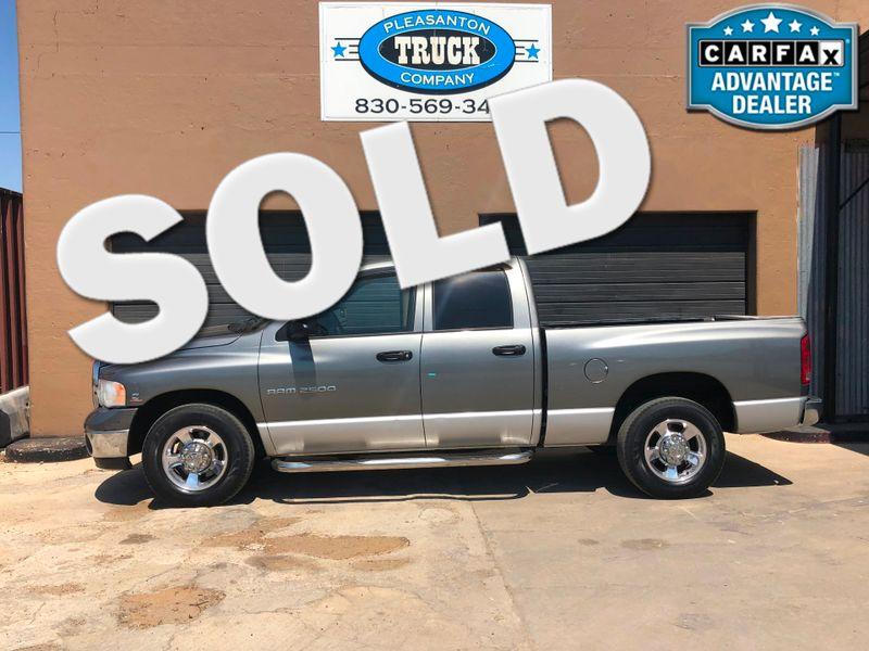 2005 Dodge Ram 2500 SLT   Pleasanton, TX   Pleasanton Truck Company in Pleasanton TX