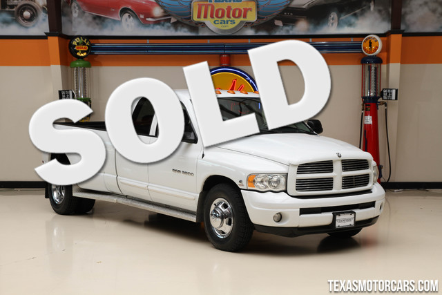 2005 Dodge Ram 3500 SLT This Carfax 1-Owner 2005 Dodge Ram 3500 SLT is in great shape with only 90