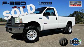 2005 Ford Diesel 6.0.L - 5 Speed! Clean Carfax Truck F350 4X4 Lifted with M/T SRW SUPER DUTY | Palmetto, FL | EA Motorsports in Palmetto FL