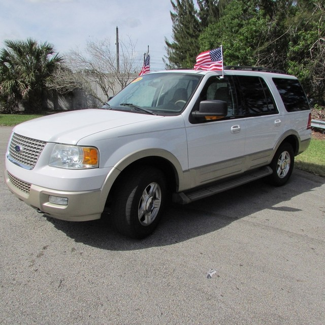 2005 FORD EXPEDITION EDDIE BAUGER 2005 FORD EXPEDITION EDDIE BAUGER WHITE COLOR NEW TAN LEATHER