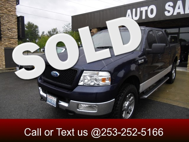 2005 Ford F-150 XLT 4WD Our Ford F150 is a class leader when it comes to ride and handling This 0