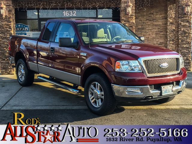 2005 Ford F-150 Lariat 4WD The CARFAX Buy Back Guarantee that comes with this vehicle means that y