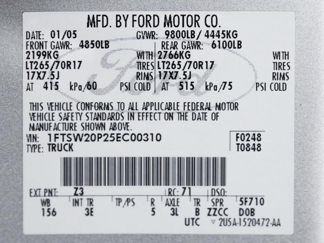 2005 Ford Super Duty F-250 XLT Burbank, CA 12