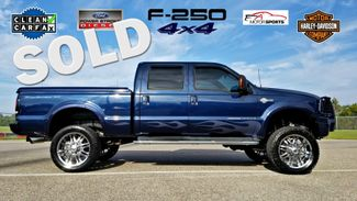 2005 Ford DIESEL 6.0 Super Duty F-250 SUPERCREW LIFTED 4X4 Harley Davidson M/T AND CHROME WHELS | Palmetto, FL | EA Motorsports in Palmetto FL