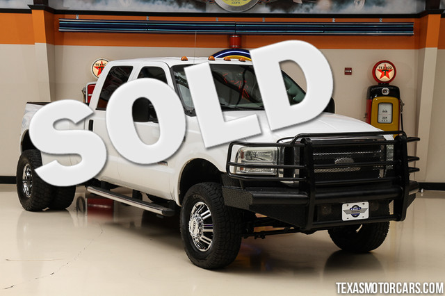 2005 Ford Super Duty F-350 Lariat BULLETPROOFED This 2005 Ford Super Duty F-350 DRW Lariat is in g