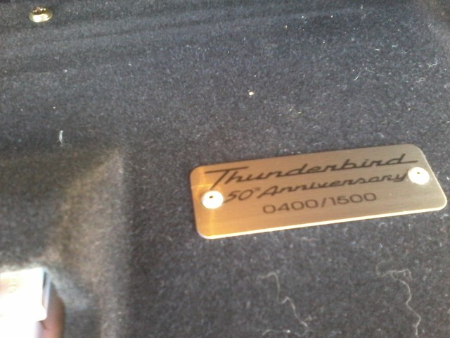 2005 Ford Thunderbird LIMITED EDTION  50th Anniversary San Antonio, Texas 15