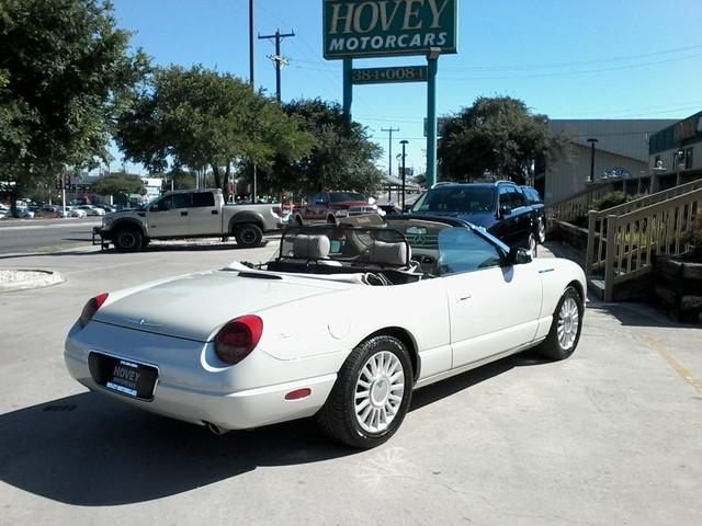 2005 Ford Thunderbird LIMITED EDTION  50th Anniversary San Antonio, Texas 3