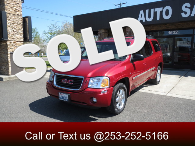 2005 GMC Envoy XL SLT 4WD Our 7-passenger Envoy XL has big city style and plenty of brawn to tackl