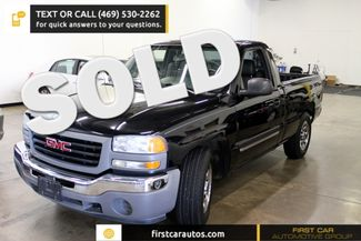 2005 GMC Sierra 1500 Standard | Plano, TX | First Car Automotive Group in Plano, Dallas, Allen, McKinney TX