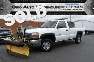 2005 GMC Sierra 2500HD 4x4 Plow 70K LOW MILES 1-Own We Finance   Canton, Ohio   Ohio Auto Warehouse LLC in  Ohio