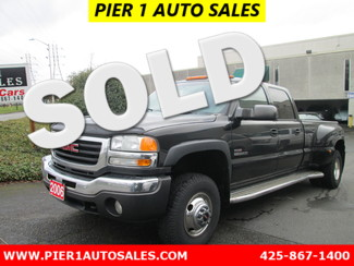 2005 GMC Sierra 3500 DRW SLT Seattle, Washington