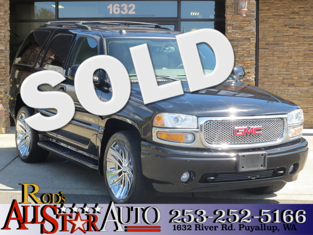 2005 GMC Yukon Denali AWD The CARFAX Buy Back Guarantee that comes with this vehicle means that yo