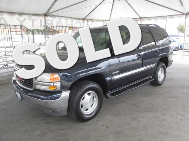 2005 GMC Yukon Commercial This particular Vehicles true mileage is unknown TMU Please call or