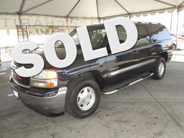 2005 GMC Yukon XL SLE This particular Vehicle comes with 3rd Row Seat Please call or e-mail to ch