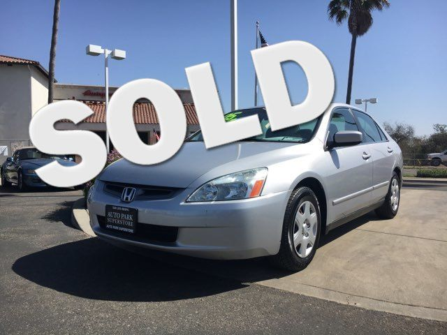 2005 Honda Accord LX Youll have change leftover when filling up this fuel efficient ride VIN 1