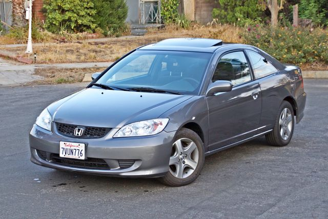 2005 Honda CIVIC EX COUPE SUNROOF AUTOMATIC ALLOY WHEELS SERVICE RECORDS Woodland Hills, CA 1